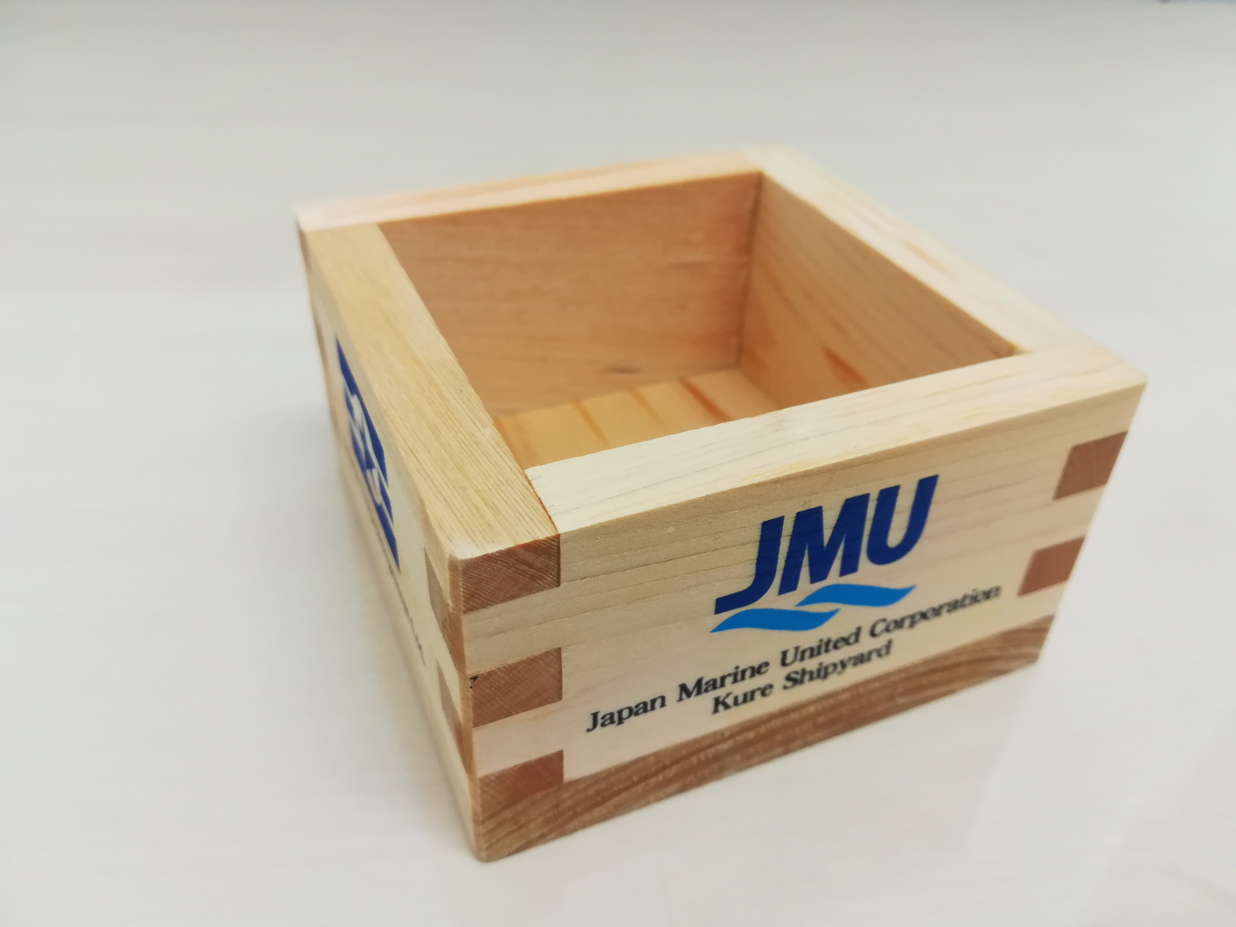 JMU事業者祭の桝